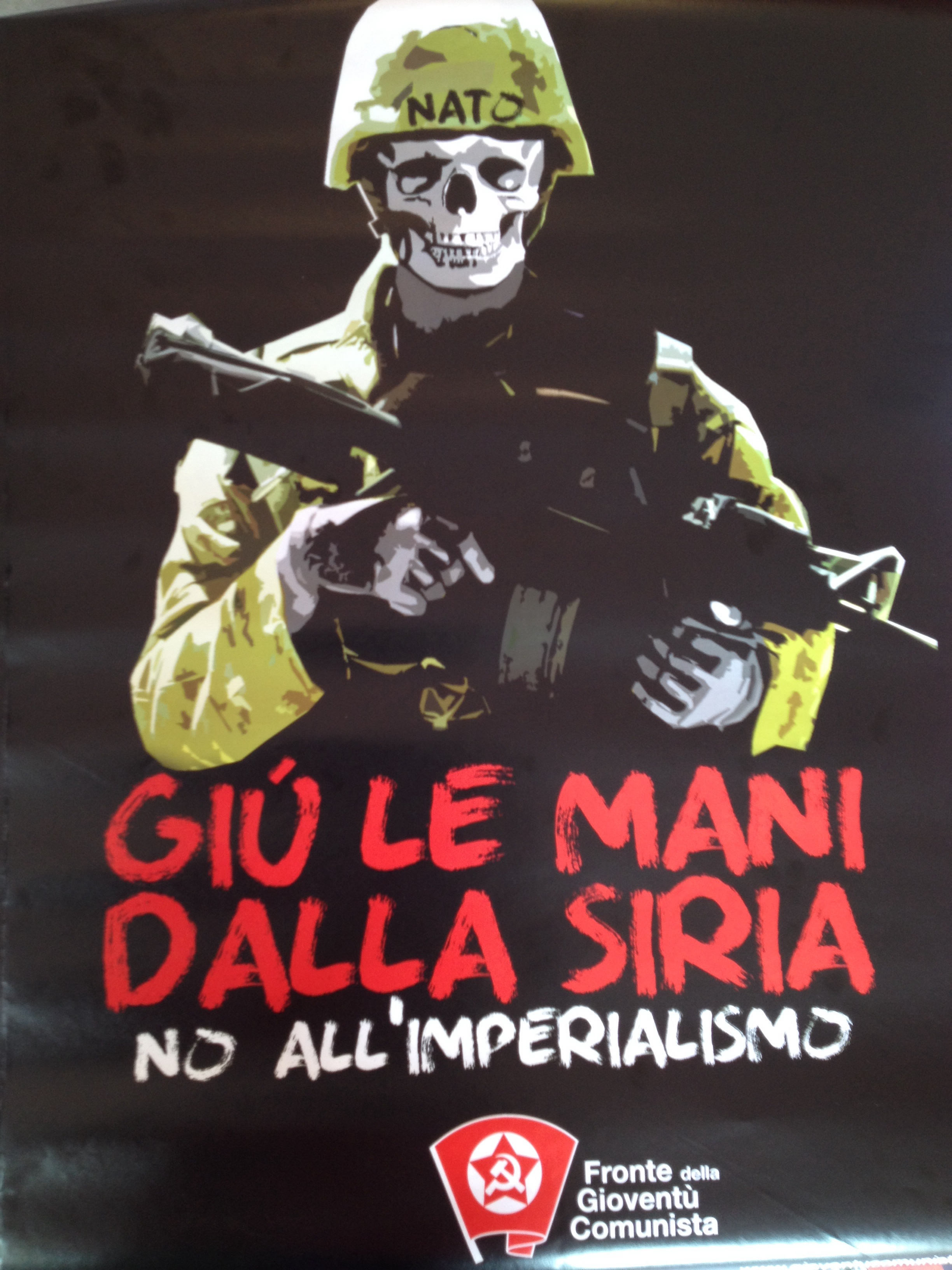 Italian Marxist Leninists poster
