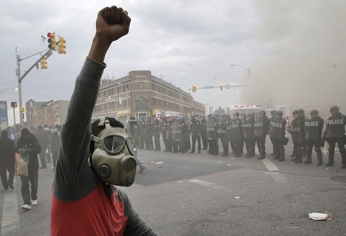Baltimore protests