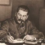 Stalin writing