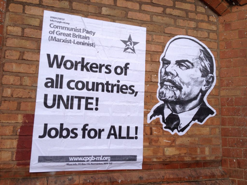 Workers of all countries, UNITE!