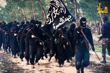 al-Nusra Front fighters