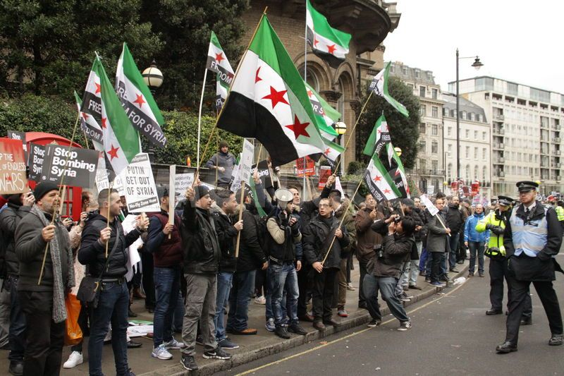 FSA supporters welcomed by Stop the War